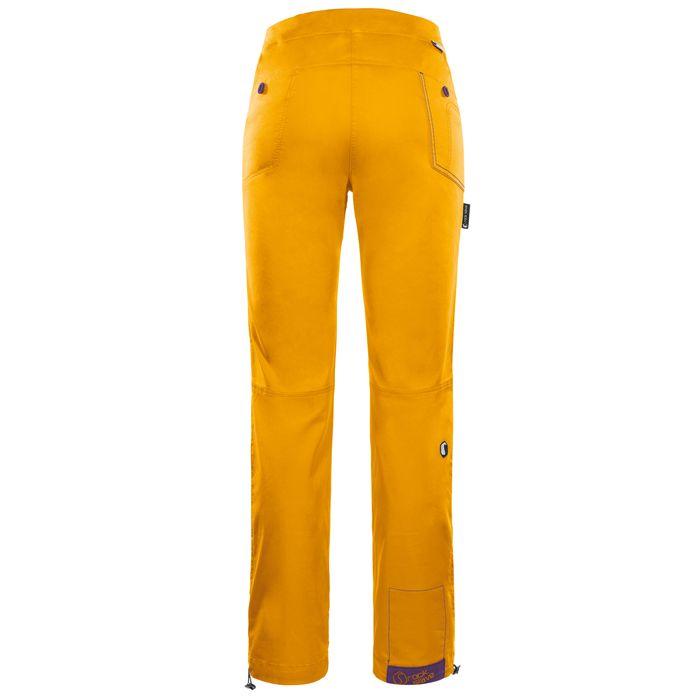 Rock Slave Grau 2.0 Pantaloni donna arrampicata gialli