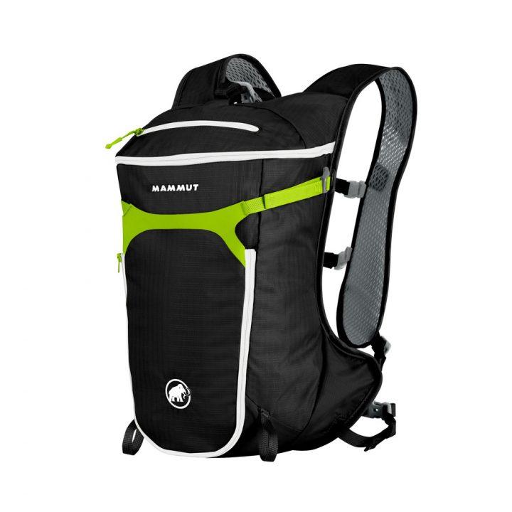 Mammut Neon Speed zainetto tempo libero arrampicata nero e verde