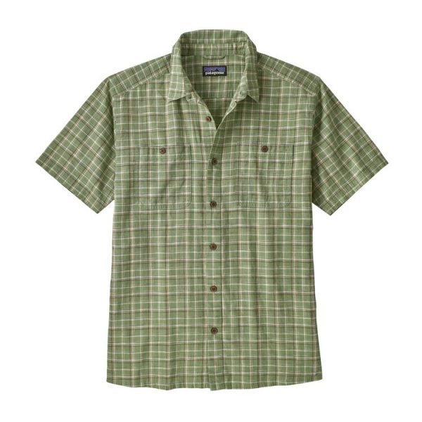 Patagonia Men's Back Step Shirt camiciotto estivo maschile verde