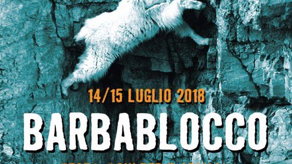 Barbablocco 2018 14-15 luglio