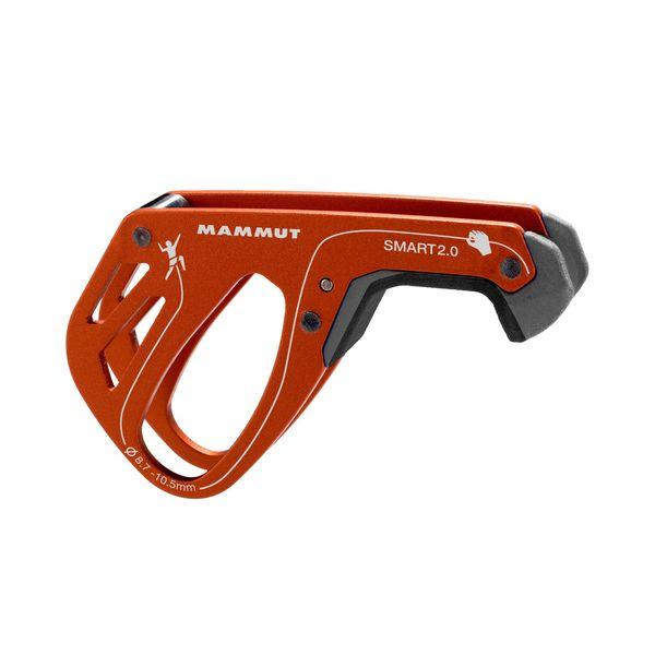 Mammut Smart 2.0 Assicuratore bloccante arrampicata falesia arancione