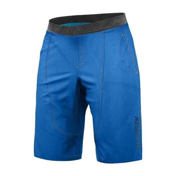 Crazy Idea L/Short Copper Man blu pantaloncini arrampicata ragazzo uomo