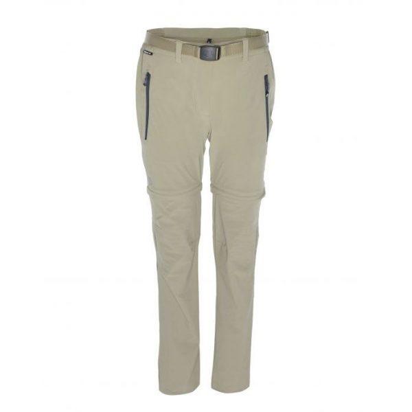 Ternua Pantalone divisibile Donna Selah beige trekking zip off