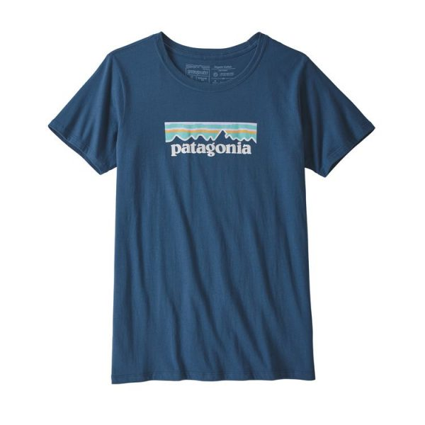 Patagonia Women's Pastel P-6 Logo Cotton Crew