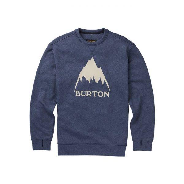 Men's Burton Oak Crew Sweatshirt felpa uomo snowboard sci