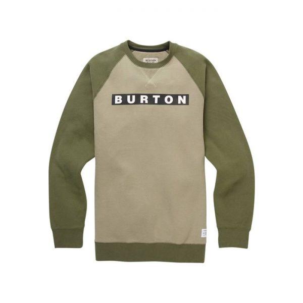 Burton Vault Crew men's sweatshirt silver sage