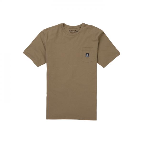 Men's Burton Colfax Short Sleeve T Shirt beige