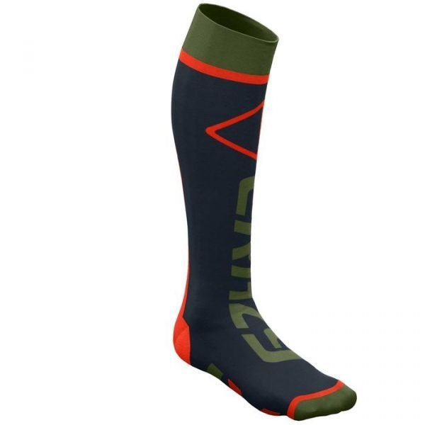Crazy Idea Crazy Carbon Socks calzettone sci snowboard