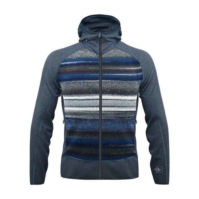 Crazy Idea Jkt Chromatic Man felpa pile giacca uomo