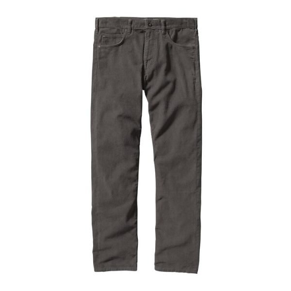 Patagonia Men's Straight Fit Cords - Regular grigio pantalone vellutino uomo ragazzo