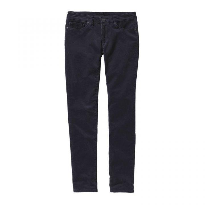 Patagonia Women's Fitted Corduroy Pants pantalone velluto donna blu 55055_SMDB