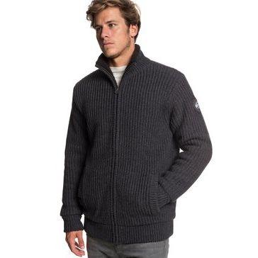 Quicksilver Boketto Giacca Maglia da Uomo EQYSW03224 maglione invernale ragazzo grigio