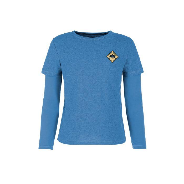 E9 Maglietta Ragazzo Bimbo Chestunt Enove T-shirt manica lunga