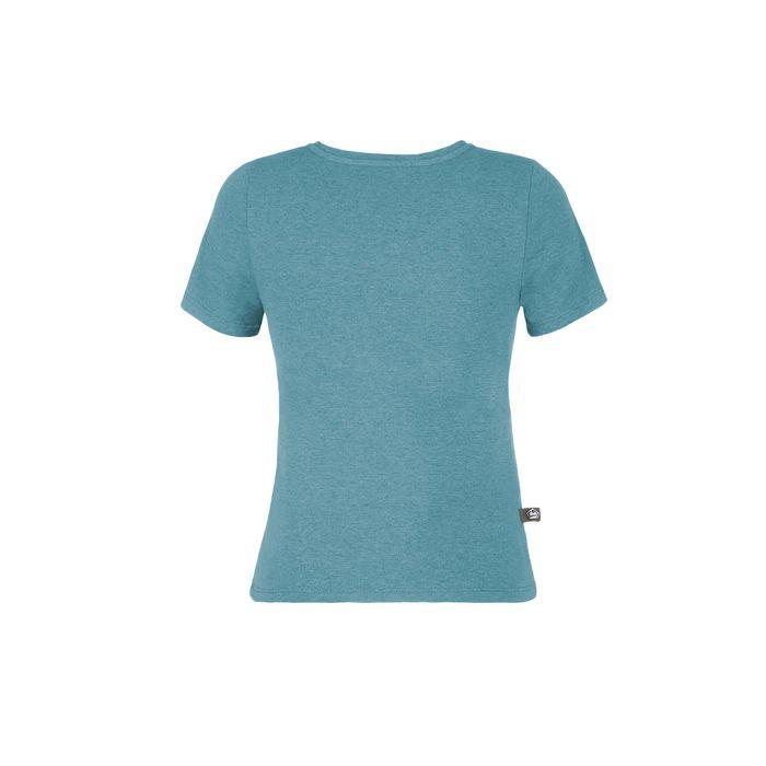 E9 T-shirt Ragazzo Plaster Enove Bambino Maglietta Arrampicata azzurra bambino