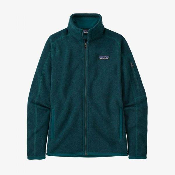 Patagonia Women's Better Sweater Jacket pile caldo donan classico verde