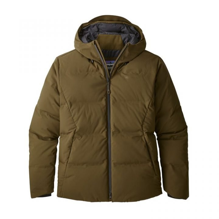 Patagonia Men's Jackson Glacier Jacket piumino caldo uomo ragazzo marrone verde