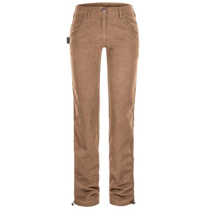 Rock Slave Pantalone Donna Gloss Pants Women velluo beige ragazza