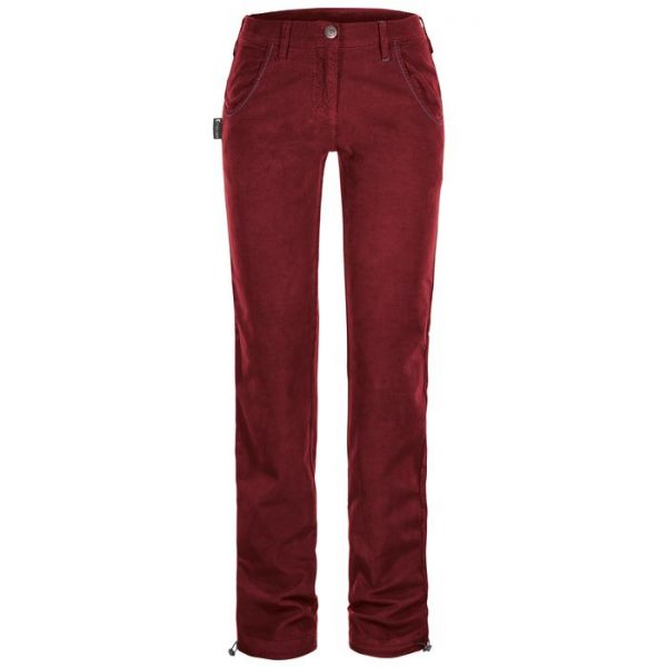 Rock Slave Pantalone Donna Gloss Pants Women velluto arrampicata