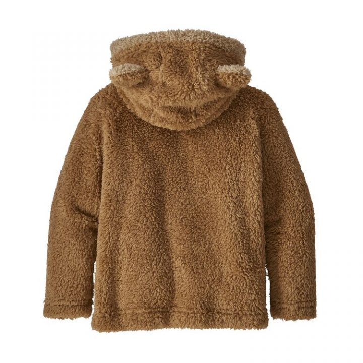 Patagonia Baby Furry Friends Hoody marrone