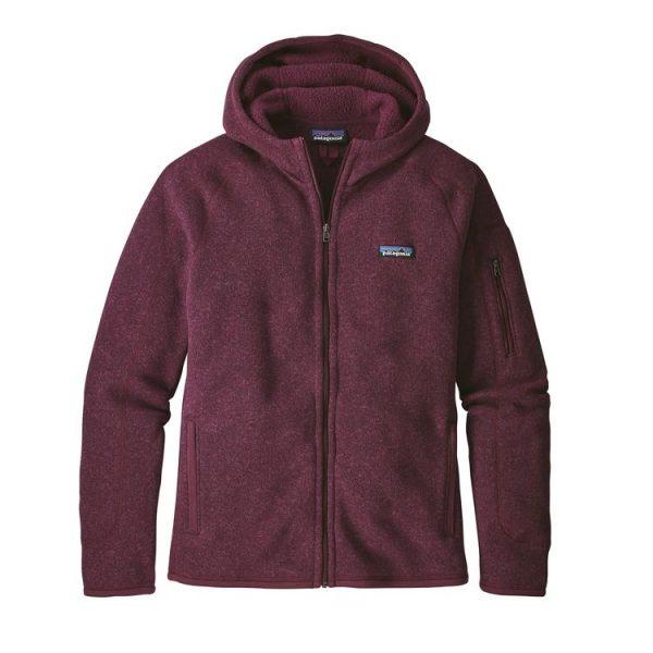 Patagonia Women's Better Sweate Full-Zip Fleece Hoody giacca pile cappuccio femminile
