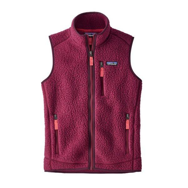 Patagonia Women's Retro Pile Fleece Vest smanicato stile vintage donna