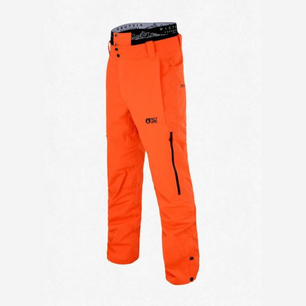 Picture Object Pant Men Pantaloni Uomo Sci Snowboard Arancioni orange