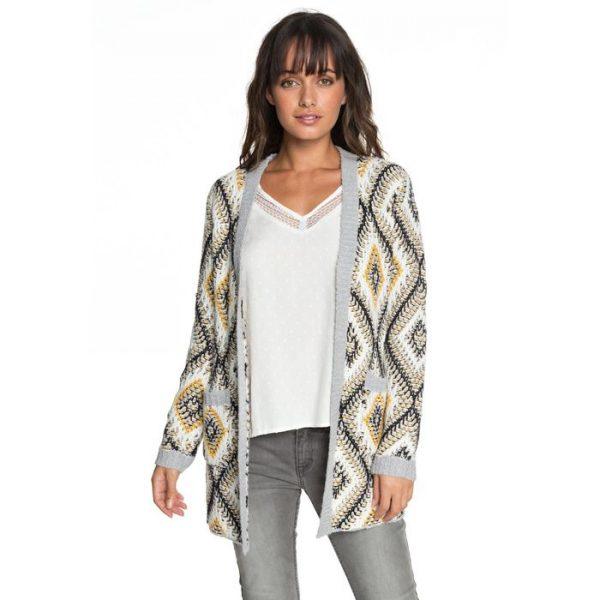 Roxy All Over Again Cardigan a maglia da Donna ERJSW03291 maglione aperto