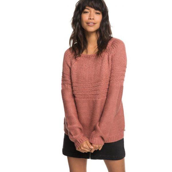 Roxy Urban Stories Maglia da Donna ERJSW03274 rosa antico maglioncino ragazza