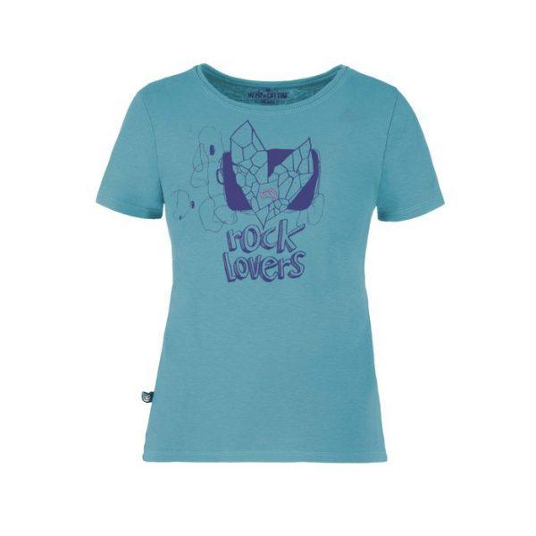 E9 Enove Love9 T-shirt Bambina azzurra