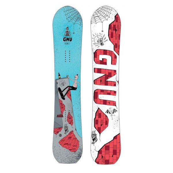 Gnu Money Snowboard 152 tavola freestyle principiante esperto
