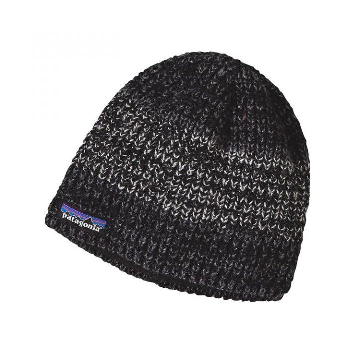 Patagonia Speedway Beanie cappellino berretto lana nero