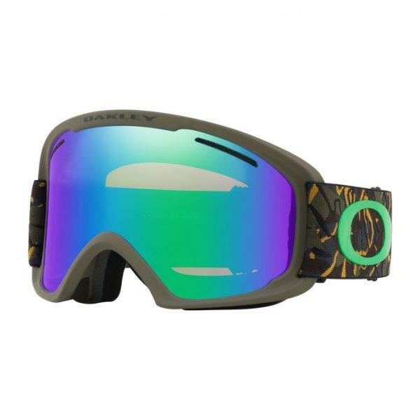 Oakley O Frame 2.0 XL Snow Goggle 7045-41 camuflage militare maschera sci snowboard