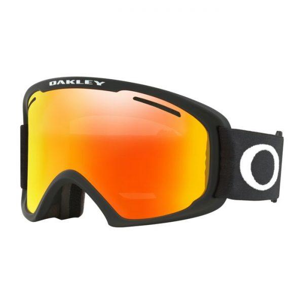 Oakley O Frame 2.0 XL Snow Goggle 7045-45 maschera nera lente rossa sci snowboard