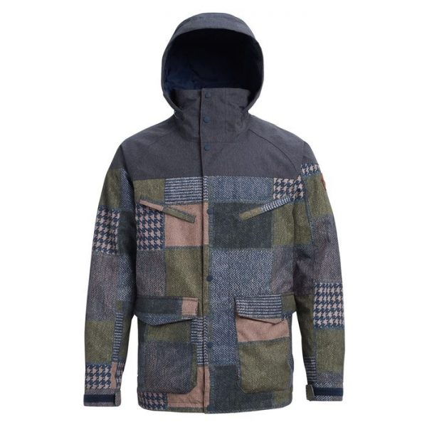 Men's Burton Breach Insulated Jacket giacca maschile snowboard ragazzo