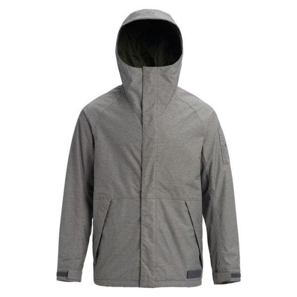 Men's Burton Hilltop Jacket giacca uomo snowboard grigia