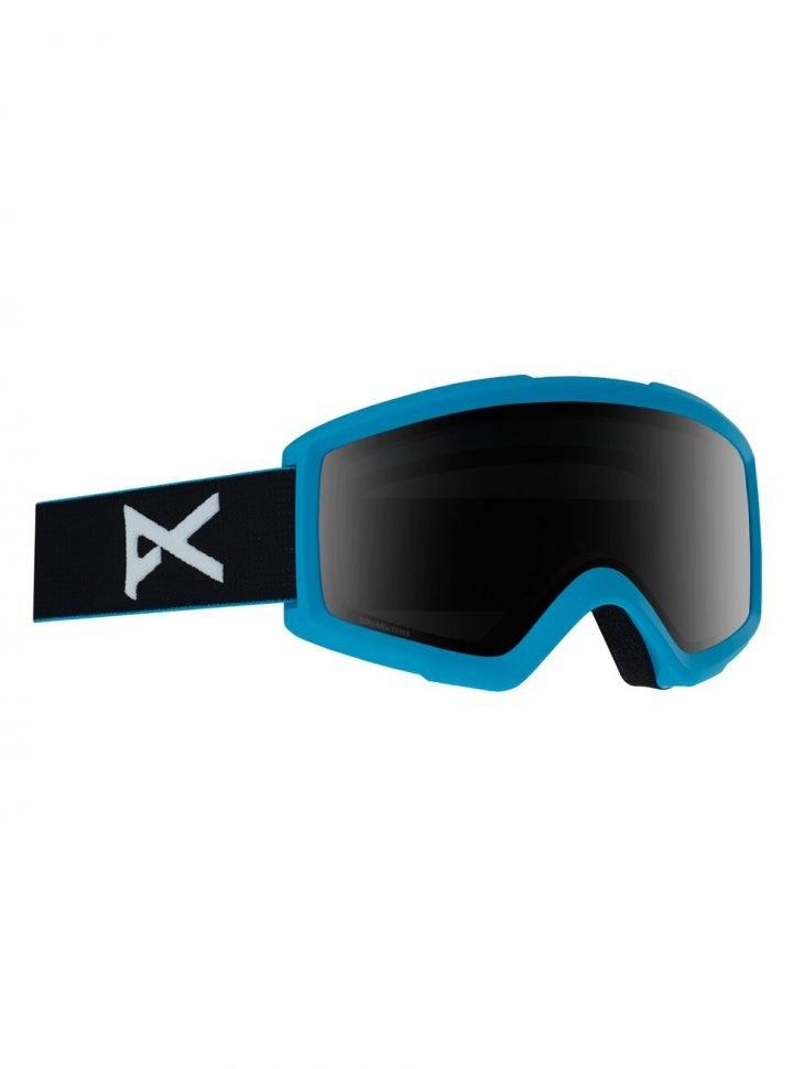 Men's Anon Helix 2.0 Sonar Goggle + Spare Lens maschera sci snowboard con lente intercambiabile