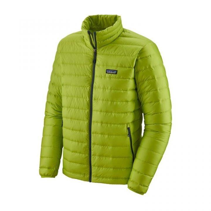 Patagonia Men's Down Sweater Jacket piumino uomo verde acido