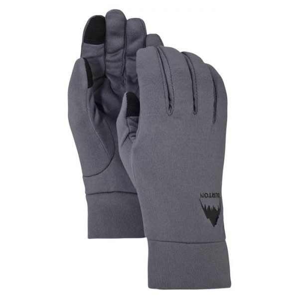 Burton Screen Grab Glove Liner sottoguanto sci snowboard grigio