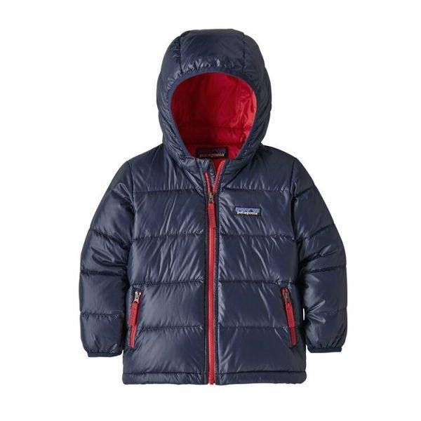 Patagonia Baby Hi-Loft Down Sweater Hoody new navy piumino bambino caldo invernale