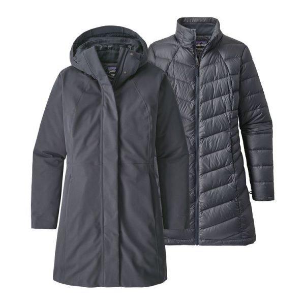 Patagonia Women's Tres 3-In-1 Parka cappotto donna invernale interno staccabile piuma