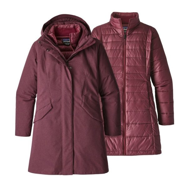 Patagonia Women's Vosque 3-In-1 Parka giacca cappotto donna imbottitura staccabile