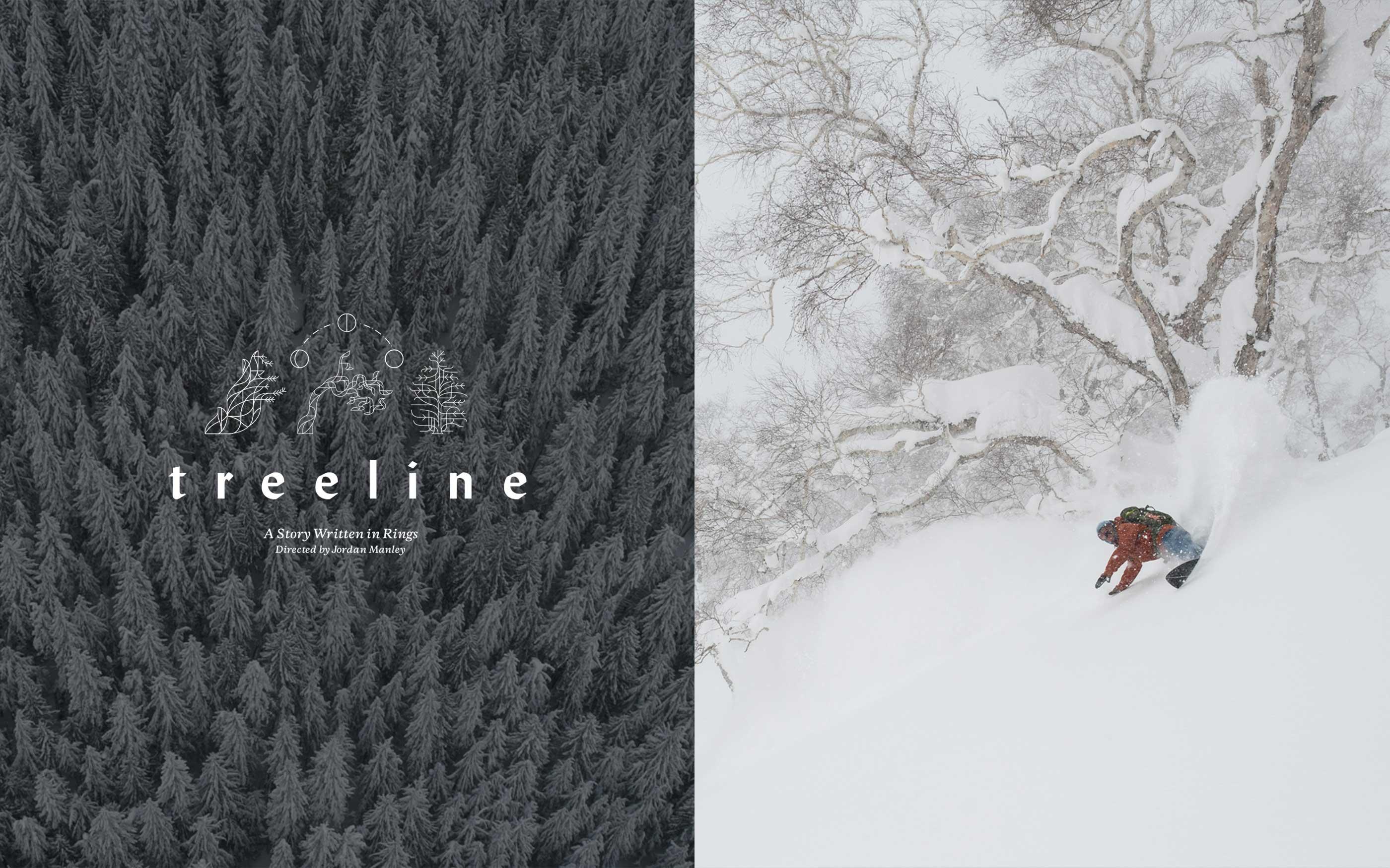 Patagonia film freeride Treeline
