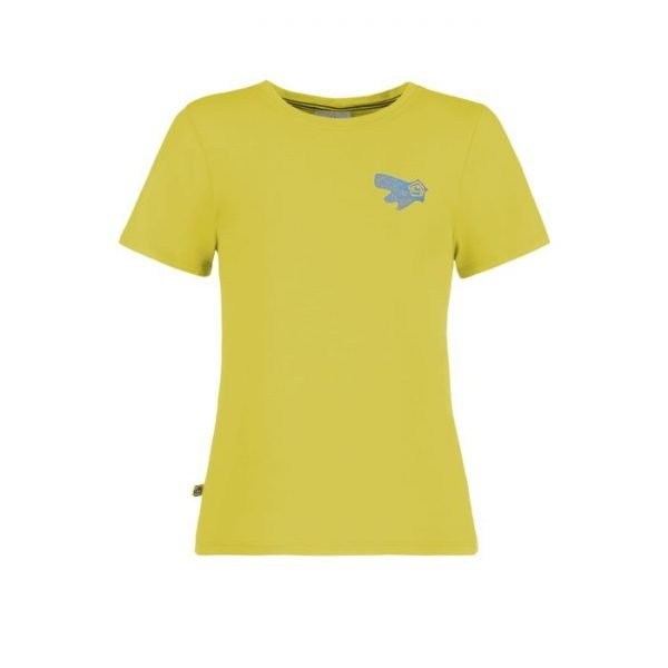 E9 t-shirt bimbo B One lime verde acido
