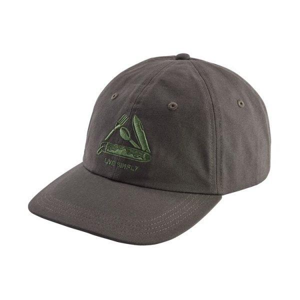 Patagonia Live Simply Pocketknife Trad Cap cappellino uomo ragazzo coltellino svizzero