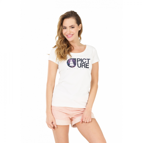 Picture Basement Palm Tee women white