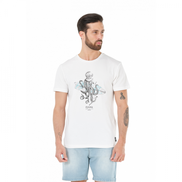 Picture Octopus Tee