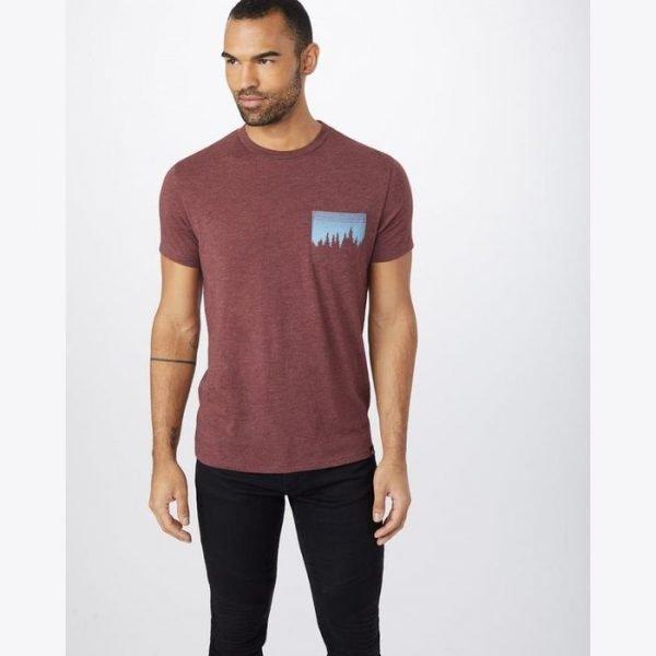 Tentree m juniper pocket t ev2 maglietta uomo