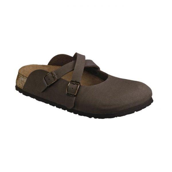 Birkenstock donna Dorian marrone sandalo chiuso