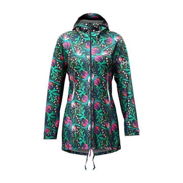 Crazy Idea Jkt Miracle Woman guscio parka donna colorato