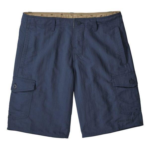 "Patagonia Men's Wavefarer Cargo Shorts - 20"" pantalone corto uomo ragazzo blu"
